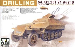 AF35082 Sdkfz 251/21 Ausf D Drilling AA